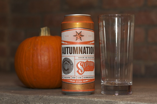 A can of Six Point Autumnation harvest ale